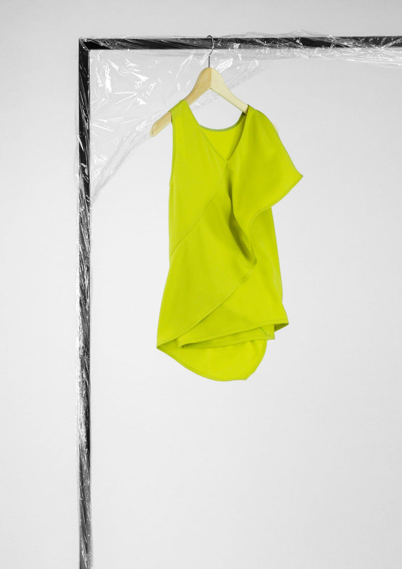 Limited Edition Clarie Top Polyester Green S