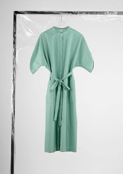 Limited Edition Daika Dress Cotton Polyester Green S
