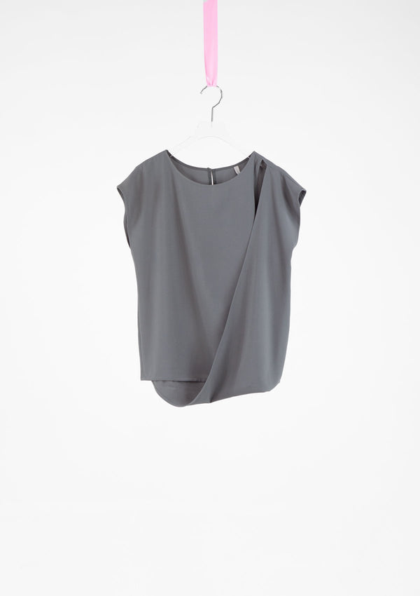 Limited Edition Dami Top Polyester Grey S