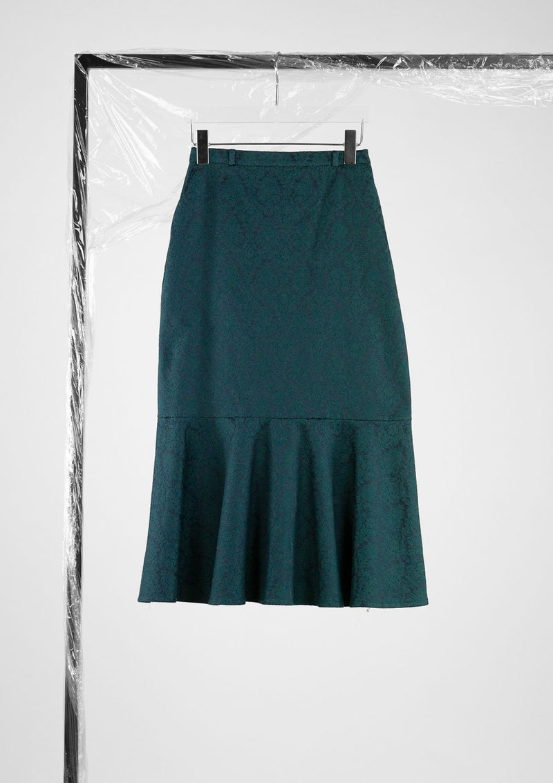 Limited Edition Egotistic Skirt Cotton Polyester Dark-Green S