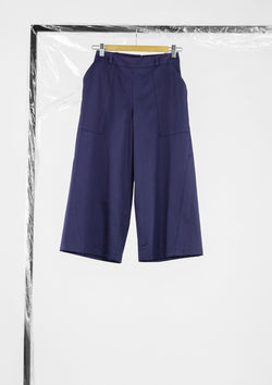 Limited Edition Embrace Pants Cotton Twill Purple S