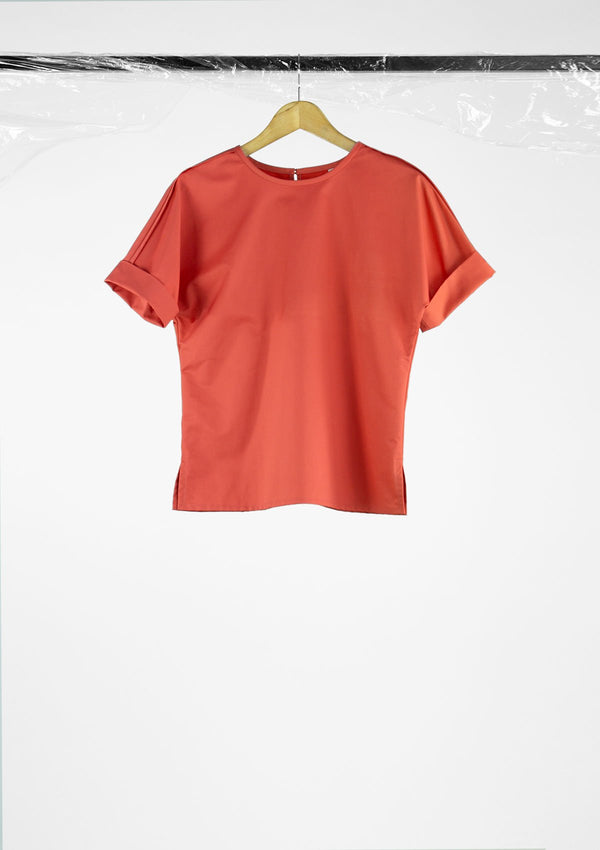 Limited Edition Endeavour Top Cotton Nylon Pink S
