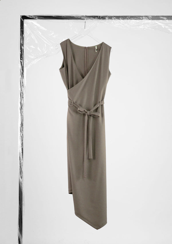 Limited Edition Fortnight Dress Polyester Brown S