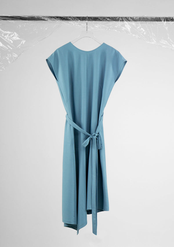 Limited Edition Fray Dress Polyester Blue S