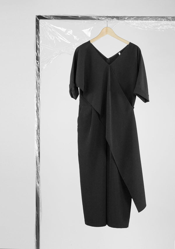 Limited Edition Galway Jumpsuit Polyester Black S