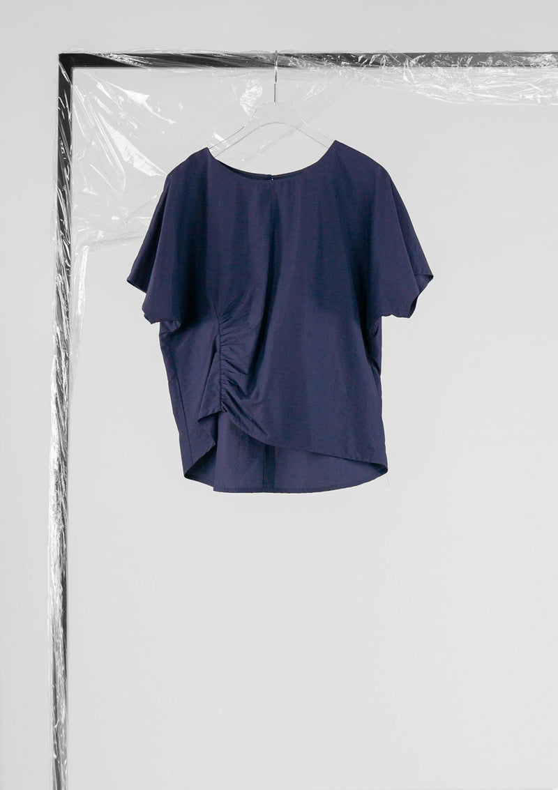 Limited Edition Gigi Top Cotton Nylon Blue S