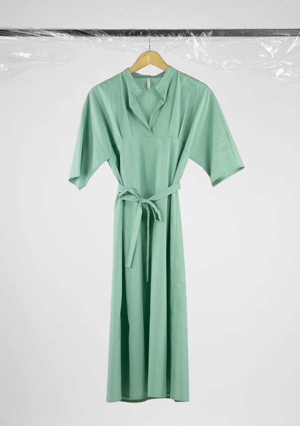 Limited Edition Giselle Dress Cotton Polyester Green S