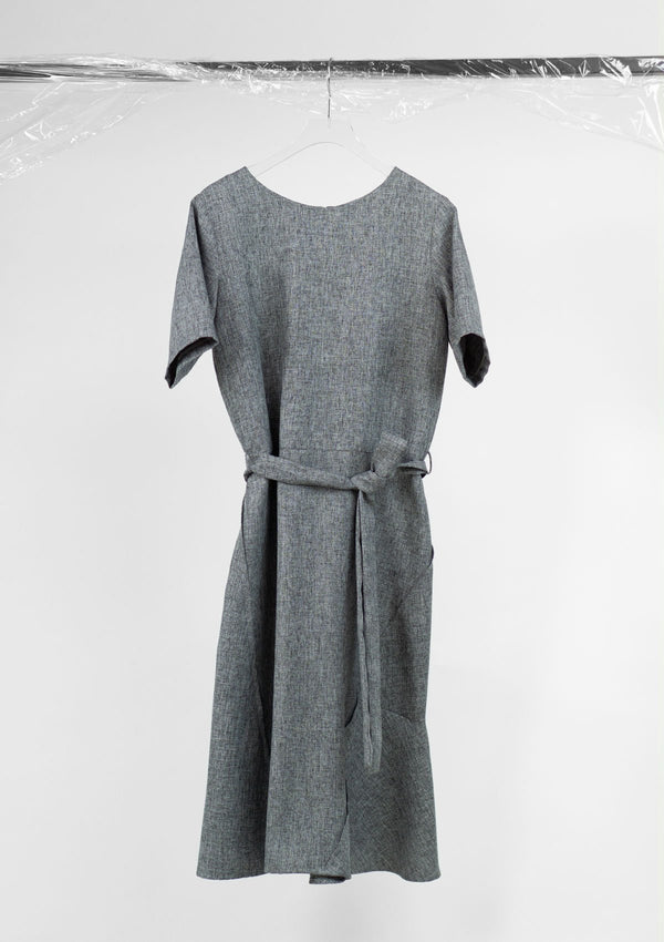 Limited Edition Gray Dress Polyester Grey S