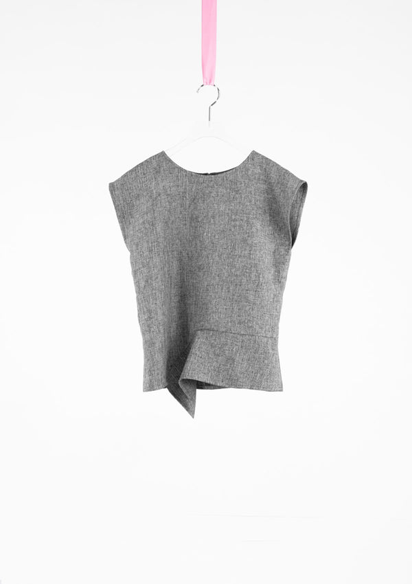 Limited Edition Imani Top Polyester Grey S
