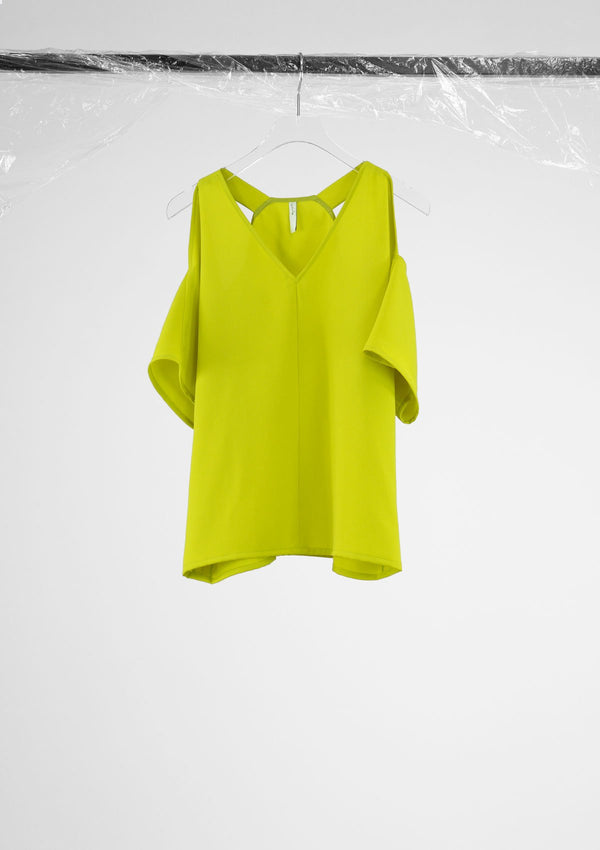 Limited Edition Itti Top Polyester Yellow S