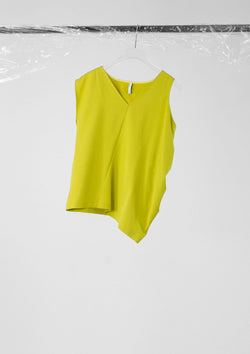 Limited Edition Kelin Top Modal Polyester Yellow S