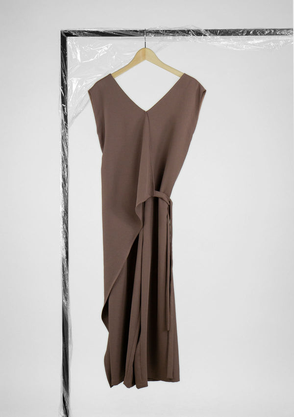 Limited Edition Lasso Jumpsuit Polyester Light-Brown S