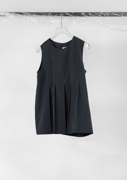 Limited Edition Lilith Top Polyester Tencel Black S