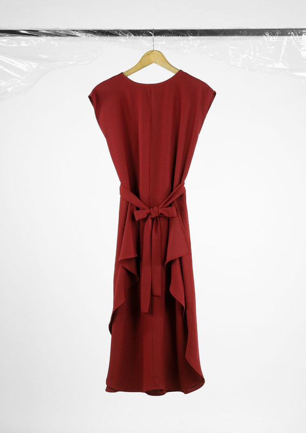 Limited Edition Livette Dress Polyester Red S