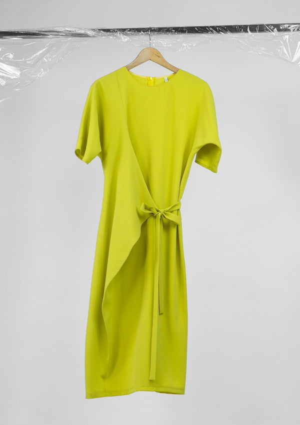 Limited Edition Lolli Dress Polyester Yellow S