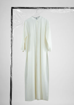 Limited Edition Louisa Dress Cotton Rayon White S