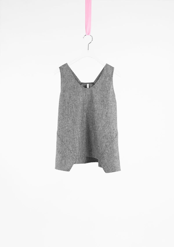 Limited Edition Lov Top Polyester Grey S