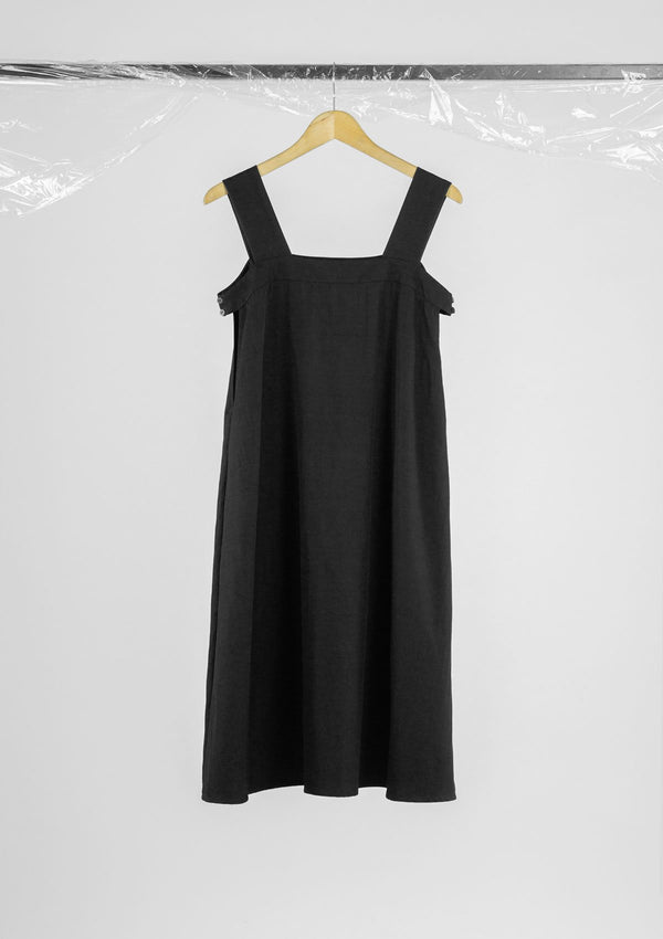 Limited Edition Loxley Dress Polyester Cotton Black S