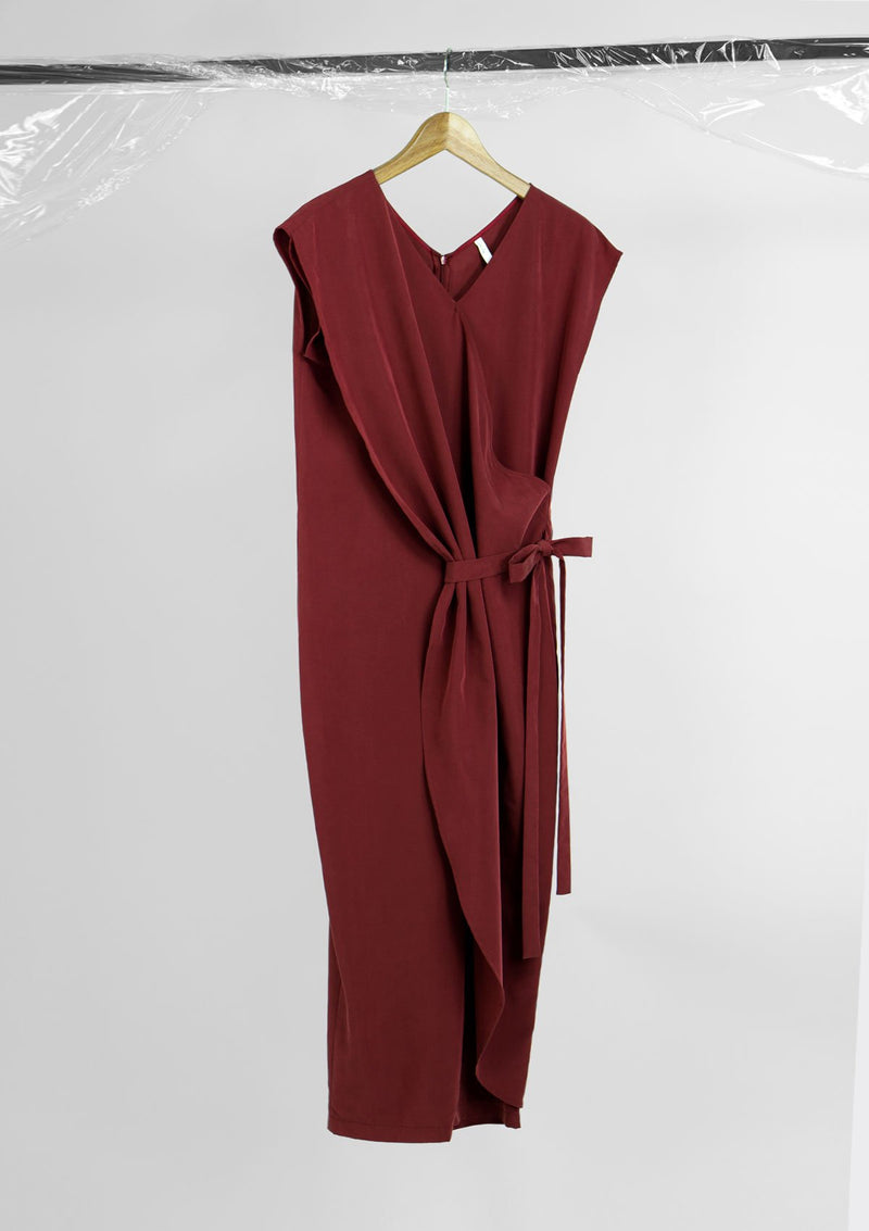 Limited Edition Lurid Jumpsuit Cotton Tencel Red S