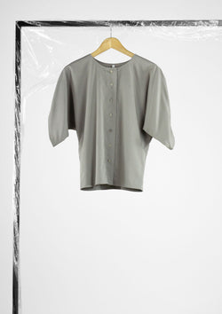 Limited Edition Mada Top Cotton Polyester Grey S