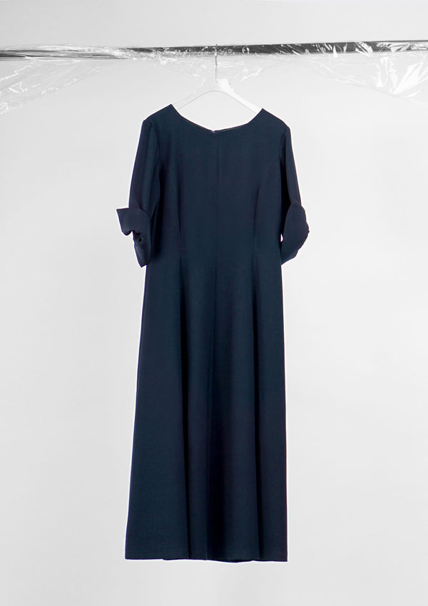 Limited Edition March dress  Polyester Dark-Blue S