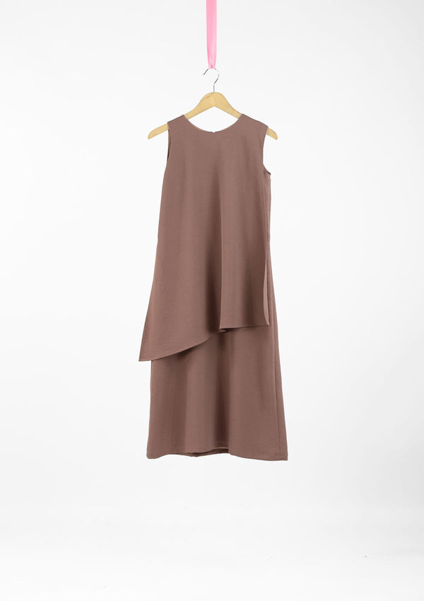 Limited Edition Maya Dress Polyester Brown S