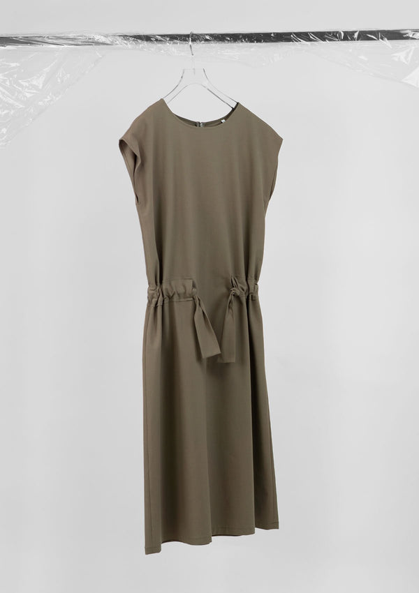 Limited Edition Milly Dress Cotton Polyester Khaki S