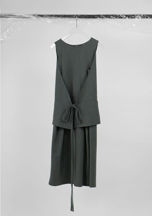 Limited Edition Millen Dress Polyester Grey S