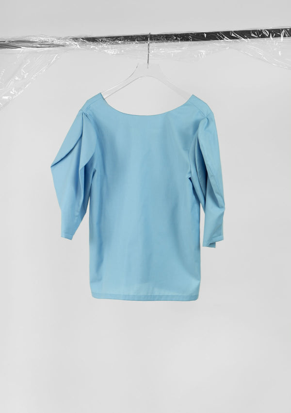 Limited Edition Miley Top Polyester Cotton Blue S