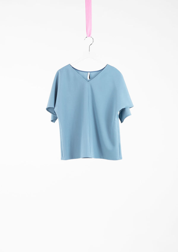 Limited Edition Oaklyn Top Polyester Blue S