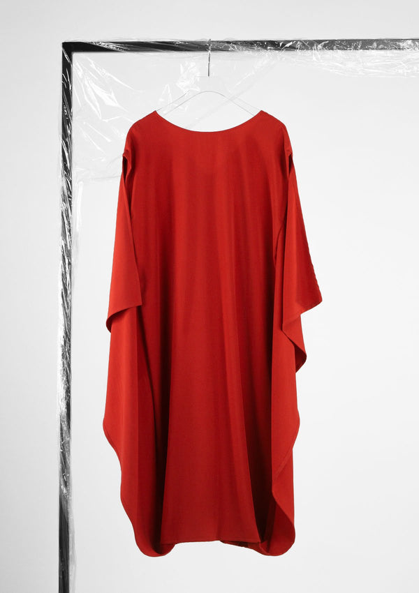 Limited Edition Ollie Dress Polyester Red S