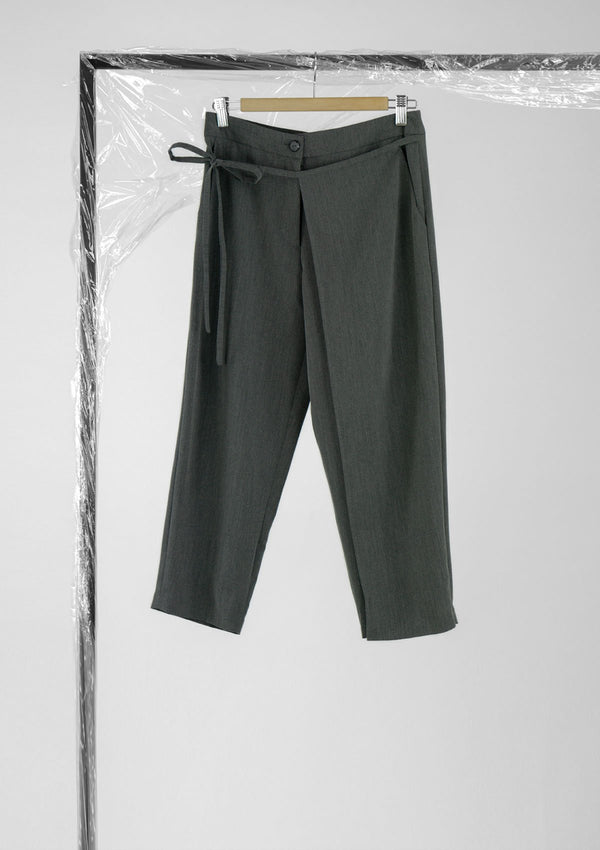 Limited Edition Overlay Pants Polyester Grey S