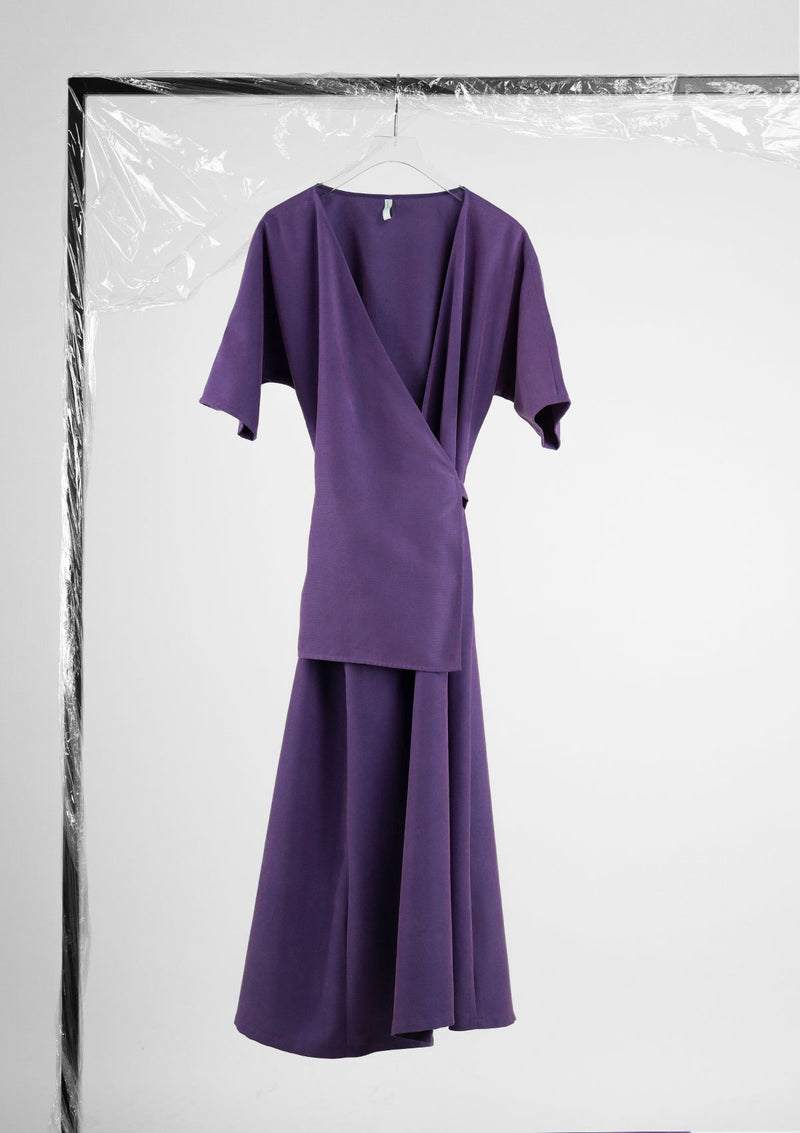 Limited Edition Penelope Dress Polyester Purple S