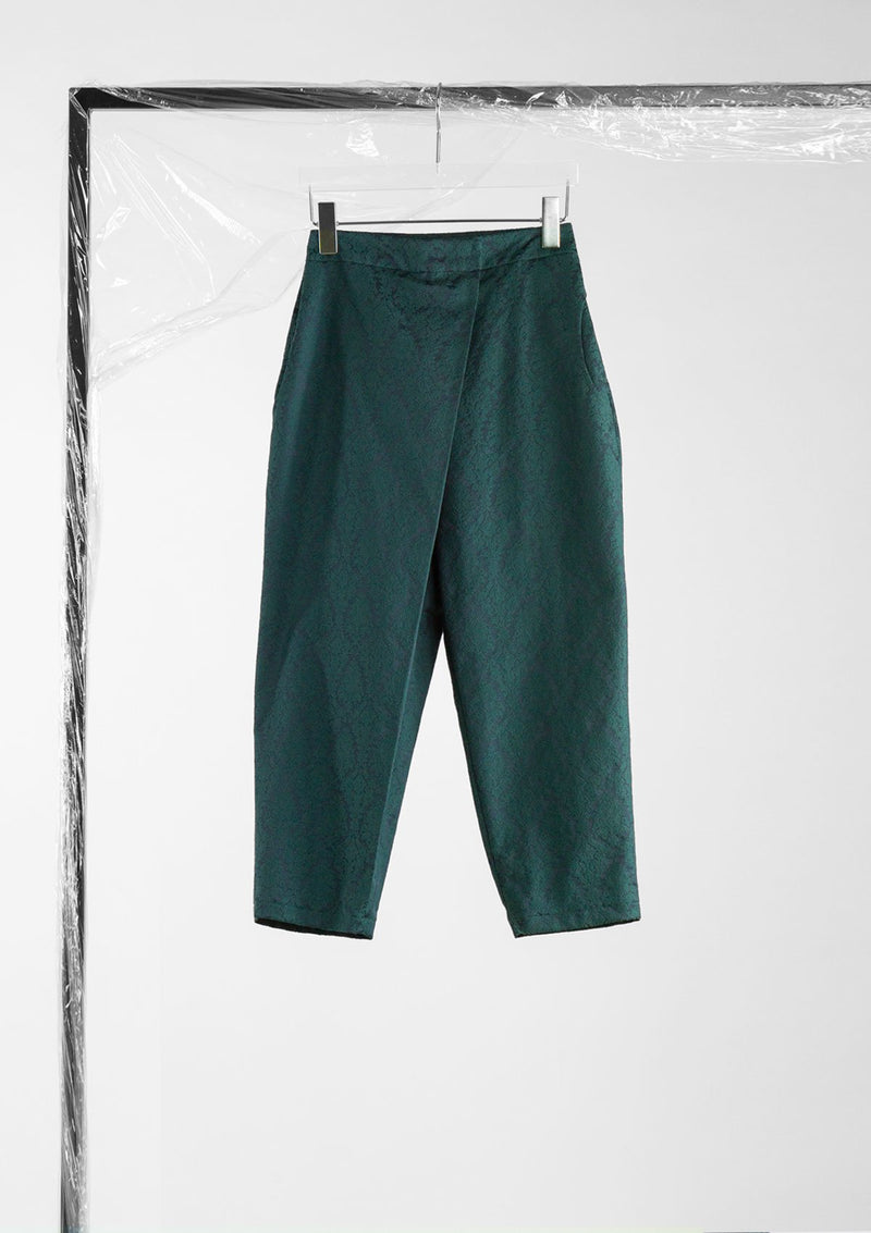 Limited Edition Perplex Pants  Cotton Polyester Dark-Green S
