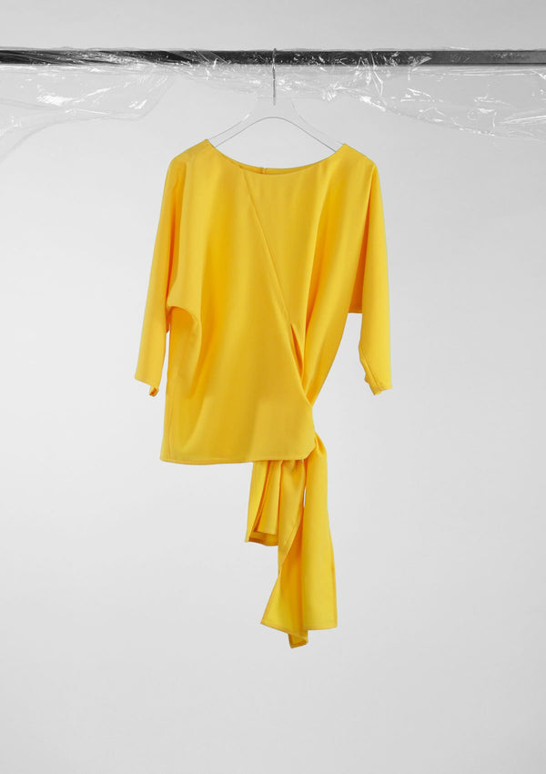 Limited Edition Ponyo Top Polyester Yellow S