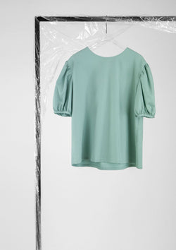 Limited Edition Riley Top Polyester Cotton Green S