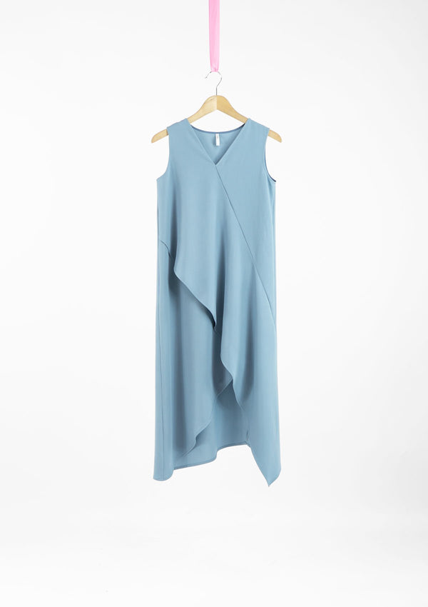 Limited Edition Saylor Dress Polyester Blue S
