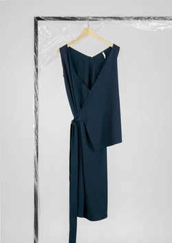 Limited Edition Silla Dress Polyester Blue S
