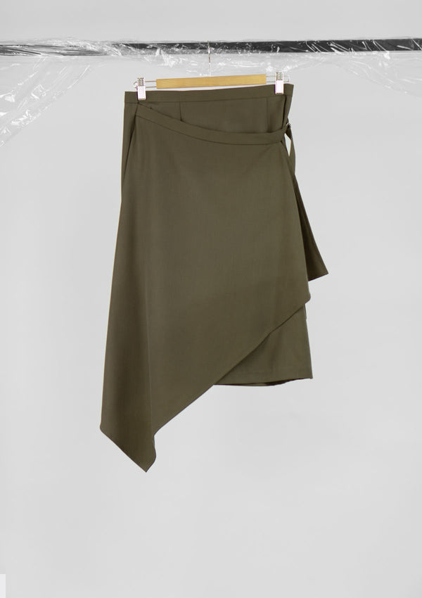Limited Edition Sol Skirt Polyester Khaki S