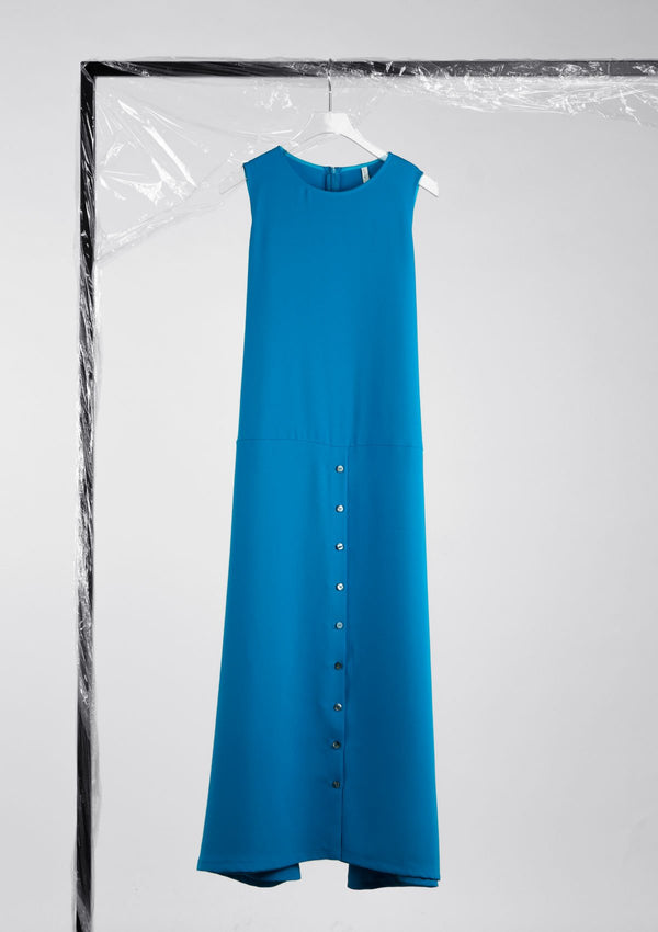 Limited Edition Sword Dress Polyester Blue S