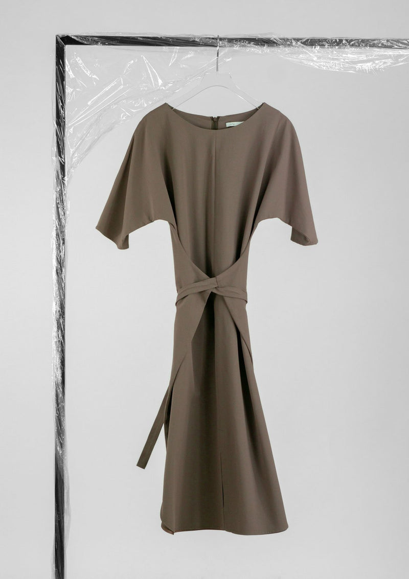 Limited Edition Tayla Dress Cotton Polyester Brown S