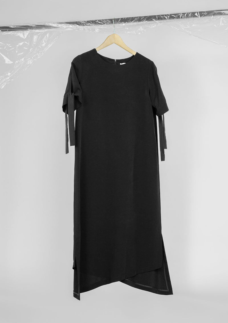 Limited Edition Trapeze Dress Polyester Black S