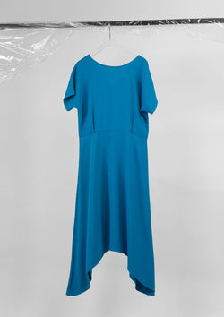 Limited Edition Trigon Dress Polyester Blue S