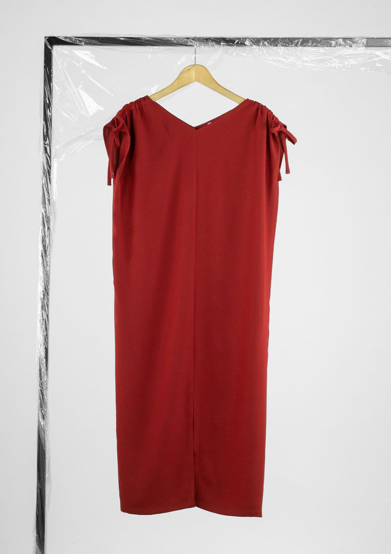 Limited Edition Valencia Dress Polyester Red S