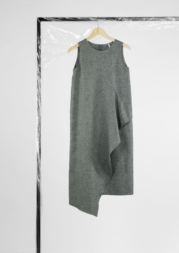 Limited Edition Veddeler Dress - SOLD OUT Polyester Grey S