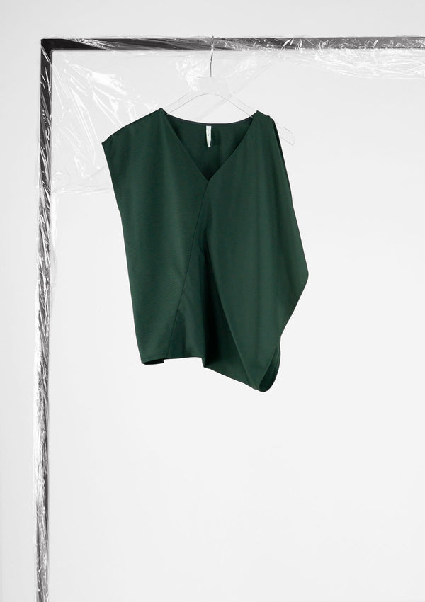 Limited Edition Wendy Top Cotton Polyester Dark-Green S