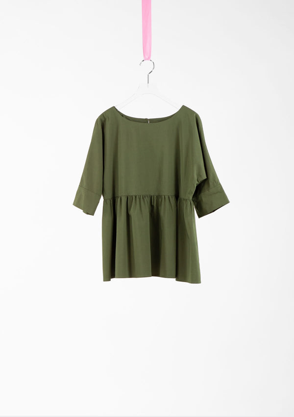 Limited Edition Winona Top Cotton Polyester Green S