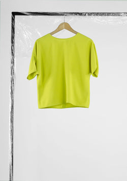 Limited Edition Wonder Top Polyester Green S