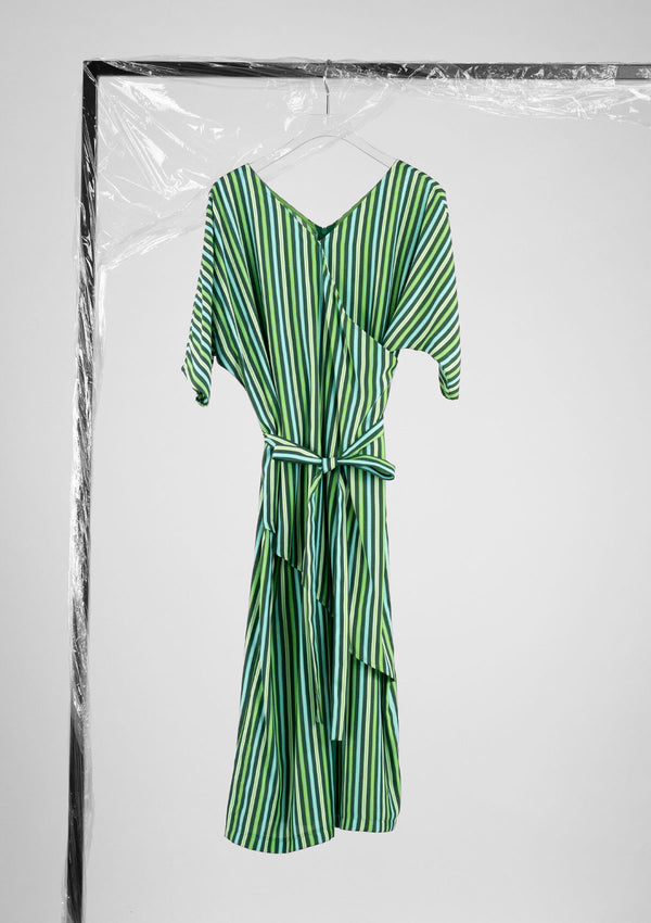 Limited Edition Zeal Dress Polyester Green S