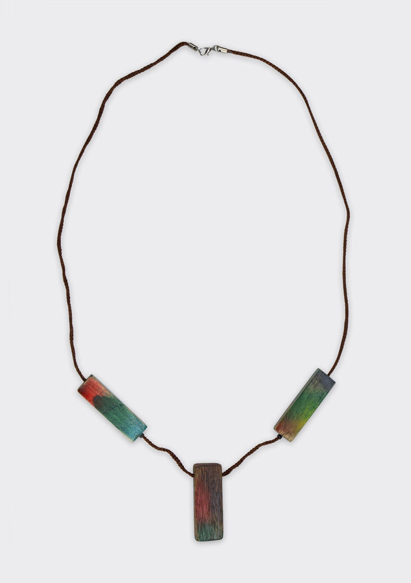 Accessories Rainbow Block Necklace FM FC FS